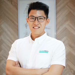Physiotherapist Isaac Wong | Image Credit: Orchard Health Clinic
